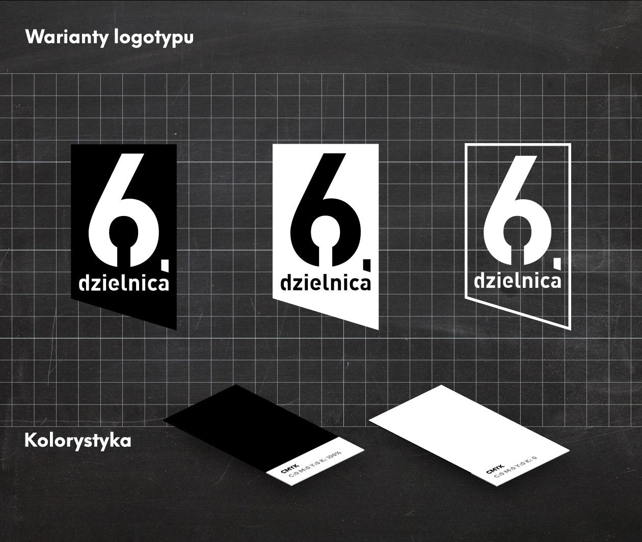 Projekt logotypu 6 Dzielnica