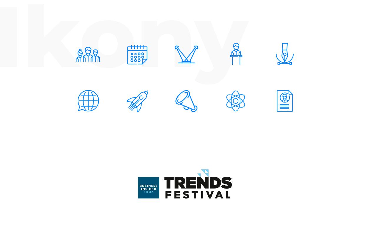 Strona Trends Festival wykonana przez Quality Pixels