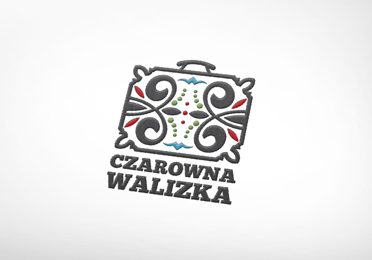 Logotyp Logotyp Czarowna Walizka