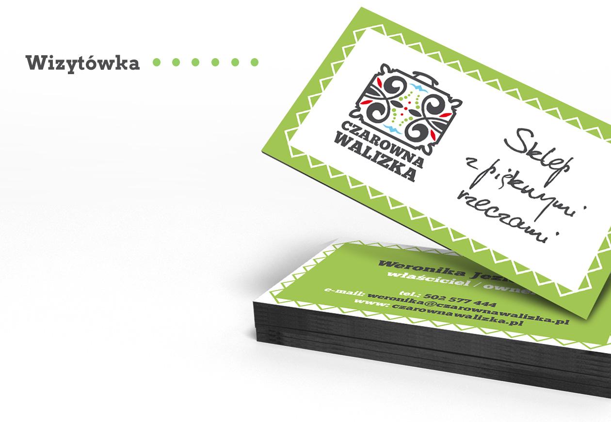 Branding Logotyp Czarowna Walizka
