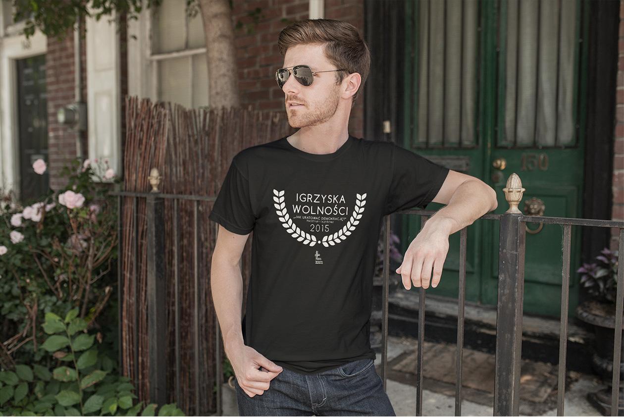 Projekt koszulki Igrzyska Wolności