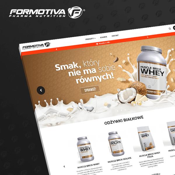 Strona Formotiva wykonana przez Quality Pixels