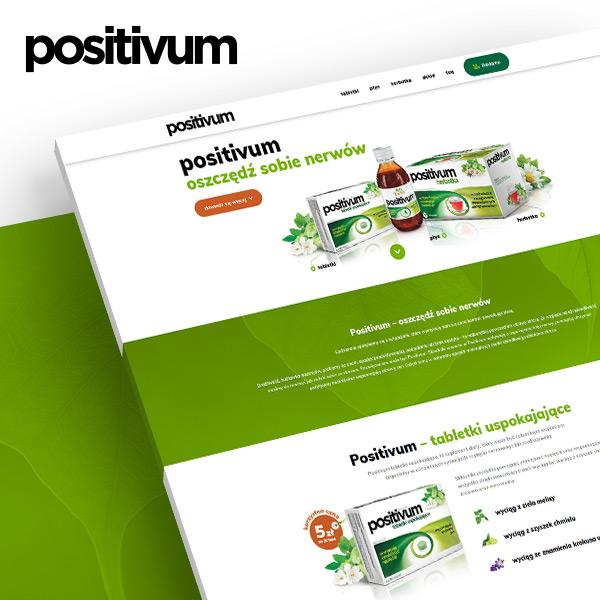 Positivium strona produktowa