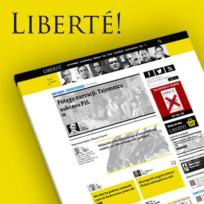 Strona internetowa Liberte