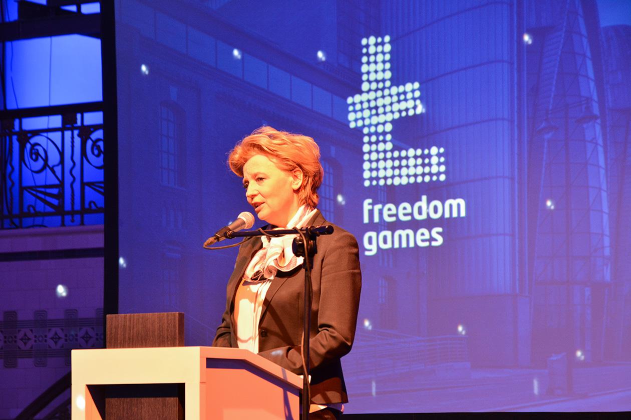 Projekt logotypu Igrzyska Wolności
