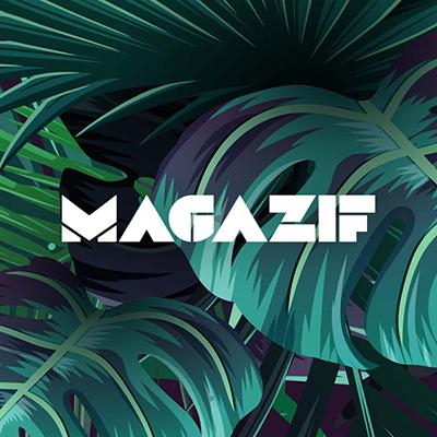 Logotyp MAGAZIF zaprojektowany przez Quality Pixels
