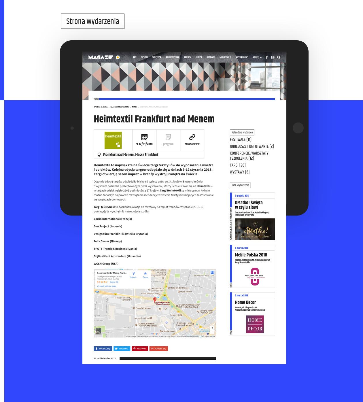 MAGAZIF portal zaprojektowany przez Quality Pixels
